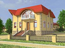 Коттеджный поселок Венский квартал, тип дома 2