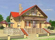 Коттеджный поселок Венский квартал - макет дома 4